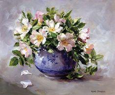 Есть, есть душа у каждого цветка... Художница Anne Cotterill. Часть 1.. Обсуждение на LiveInternet - Российский Сервис Онлайн-Дневников