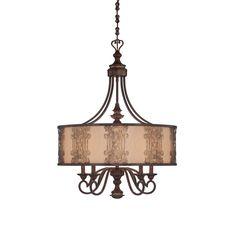 Savoy House 1-3951-5-124 Windsor 5-Lt Chandelier in Ceiling Lights, Chandeliers, Indoor Chandeliers: LeeLighting.com