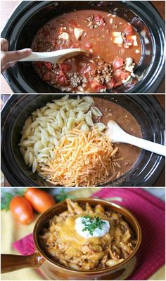 Slim it down use GF noodles and chicken breasts.... yep. Easy Slow Cooker Taco Pasta