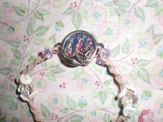 Sitting Pretty Mermaid Hemp Bracelet with clasp by Hunnalula