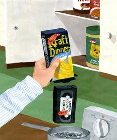 VHS Case by Brandon Celi #painting