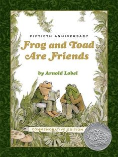 First published in 1970, Frog and Toad Are Friends was the first of the four beloved Frog and Toad books. This special edition contains all of the original stories Dog Books, Animal Books, Arnold Lobel, Elephant Book, Books Everyone Should Read, Book Markers, Frog And Toad, Book Journal, 50th Anniversary