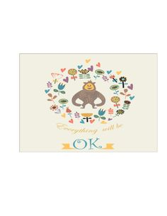 Soft image with printable coloring cards for all occasions