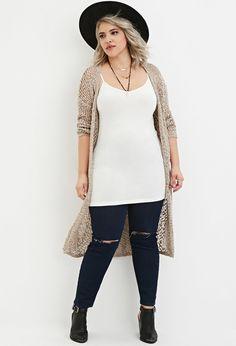 Plus Size V-Neck Knit Cami
