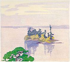 Walter J. Phillips (1884-1963) Cathcart's Island, Muskoka, 1927