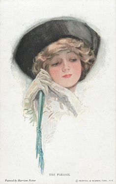 The Parasol ~ Harrison Fisher
