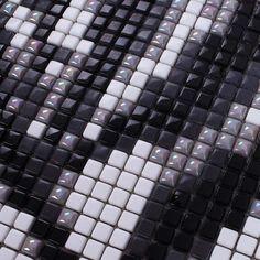 Vitreous Mosaic Tile Pattern Glazed Crystal Glass Backsplash Kitchen Design Art Bathroom Wall Tiles