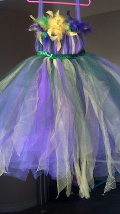 Marti Gras Tutu Dress; would be so much fun to wear(: