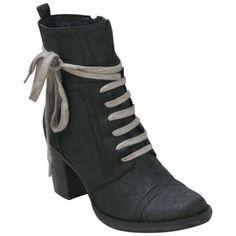 Buy Black Brown Miz Mooz Women's Minnie Lace-Up Boot shoes