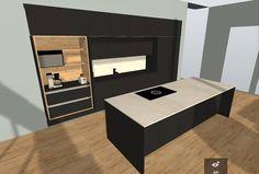 Ai että! Meijän keittiöstä tulee hieno😍😍 Se on kyllä mahtavaa, että saa suunnitella semmosen ammattilaisen kanssa, joka osaa kuunnella sun toiveet ja ideat👍 #keittiösuunnittelu #arkkikaluste #omakotitaloprojekti2017 #dekotalo #dekolato153 Bathroom Lighting, Kitchen Design, Master Bedroom, Sweet Home, Mirror, House, Furniture, Instagram, Home Decor