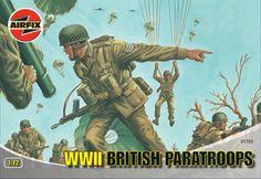 Airfix 1:72 WWII British Paratroops