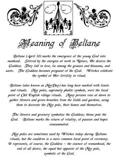 Meaning of Beltane | Witches Of The Craft®