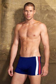 7b411559ed Stripe Squarecut - New Colors! Striped Swimsuit, Black Swimsuit, Red Shorts,  Swim