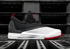 a2d10ac0f9a732 James Harden PE adidas Crazylight Boost in White