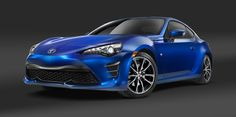 The 2017 Toyota the rebadged version of the outgoing Scion FR-S coupe, will go on sale at all Toyota dealerships this fall. The Toyota 86 debuts at the 2016 New York Auto Show. Toyota 86, Top 10 Sports Cars, Sport Cars, Nissan, Audi, Toyota Dealership, Best Gas Mileage, Ford, Scion