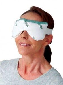 Microwaveable mask for blepharitis