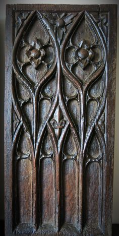 French Gothic Panel 16th Century.