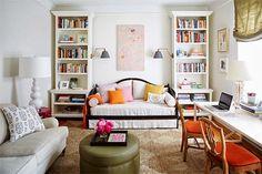 Super Cute!!!  Small Apartment Furniture | Tips for a small chic studio apartment | Daily Dream Decor