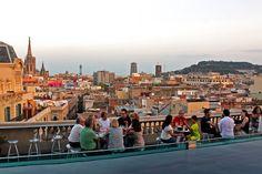 Ohla Hotel: Ohla Terraza Chillout Bar, Summer hours: 6 p.m. – 1 a.m. Address: Via Laietana, 49