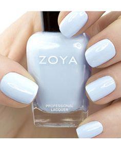 Zoya nail polish #blue #beautyinthebag #nails