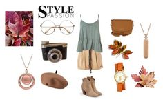 """""""classic-chic fall dress"""" by lalulavanya ❤ liked on Polyvore featuring Topshop, Tommy Hilfiger, Tory Burch, JustFab, My Story, BillyTheTree and vintage"""