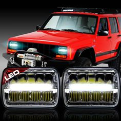 Headlight for the Jeep XJ