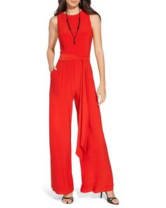 b8da5f8f0604 Lauren Ralph Lauren Jumpsuit - Wide Leg Matte Jersey EDITORIAL - Women s  New Arrivals - Clothing - Bloomingdale s