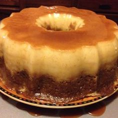 Banana Flan Cake - Allrecipes.com