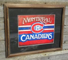 original # Montreal Canadien hockey art/ Print by Zeke