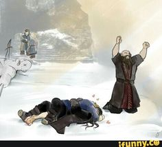 I Just laughing how Dwalin reacts