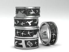 Custom Rings for hunters by hunters!   www.duckbandbrand.com 618-833-0655 Mon-Fri 10am to 6pm CST