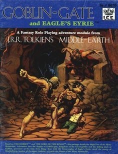 Product Line: Middle Earth Roleplaying  Product Edition: M1  Product Name: Goblin-Gate and Eagle's Eyrie  Product Type: Adventure Module  Author: Carl Willner  Stock #: 8070  ISBN: 0-915795-40-X  Publisher: ICE  Cover Price: $6.00  Page Count: 39  Format: Softcover  Release Date: 1985  Language: English