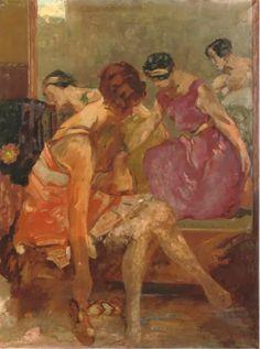 Ballerinas, Willem de Zwart. Dutch (1862 - 1931)