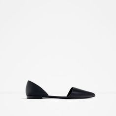 ZARA - WOMAN - FLAT D'ORSAY SHOES