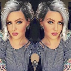 Short Hair Ideas for Round Faces 2017