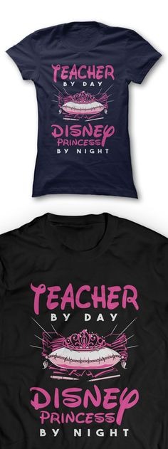 This sassy and stylish shirt is a perfect gift for teachers. This tee tells everyone that there's no doubt that teachers are those who most deserve to be treated like a Disney Princess.