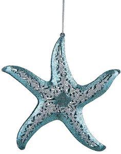 Pierced Starfish Ornament