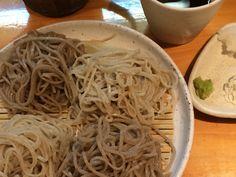 Soba Buckwheat Noodles, Spaghetti, Ethnic Recipes, Food, Meals, Yemek, Noodle, Eten