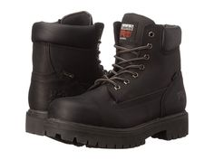 Timberland PRO Direct Attach 6 Steel Toe Men's Work Lace-up Boots After Dark Full-Grain Leather