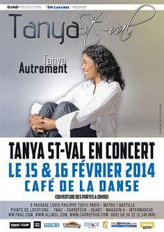 EVENEMENT PARIS : TANYA SAINT-VAL EN CONCERT AU CAFE DE LA DANSE !!   Consultez l'article ici : http://www.black-in.com/sorties-loisirs/musique/aymie/events-tanya-saint-val-en-concert-a-paris/