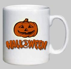 Novelty Printed Mug, Halloween (design 007)  Can be Personalized