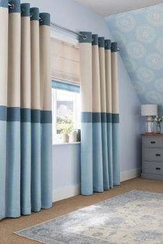 Buy Blue Textured Band Roman Blind from the Next UK online shop