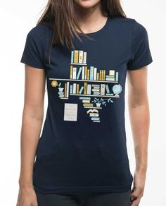 Womens Boyfriend Tee Navy - Next Level Apparel - $25.99