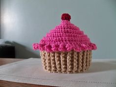 Treat yourself to a cupcake hat!    Available sizes (circumference of hat in inches):  Baby (14)  Toddler (16)  Child (18)  Adult (20)  Large Adult (22)    To request a specialty color, contact molly directly.