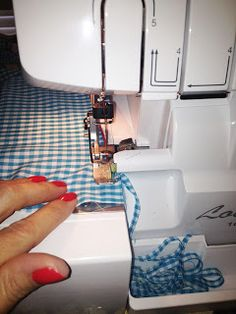 How to do a rolled hem