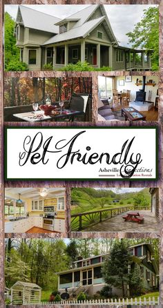 Why look for pet friendly hotels in Asheville when these fabulous vacation rentals are available?