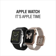 NEU APPLE WATCHES auch bei www.microspot.ch vorreservieren! Apple Watch, Smart Watch, Watches, News, Camera Lens, Smartwatch, Clocks, Clock