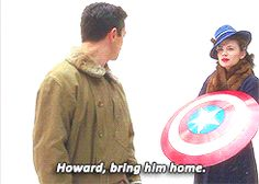 The Agent Carter season finale made me cry.