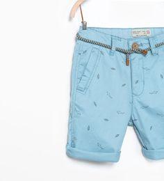 ZARA的图片 2 名称 彩色百慕達短褲