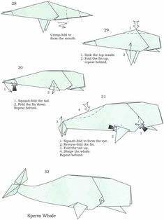 origami sperm whale step 3